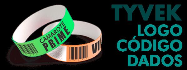 Pulseira de Identificação Tyvek