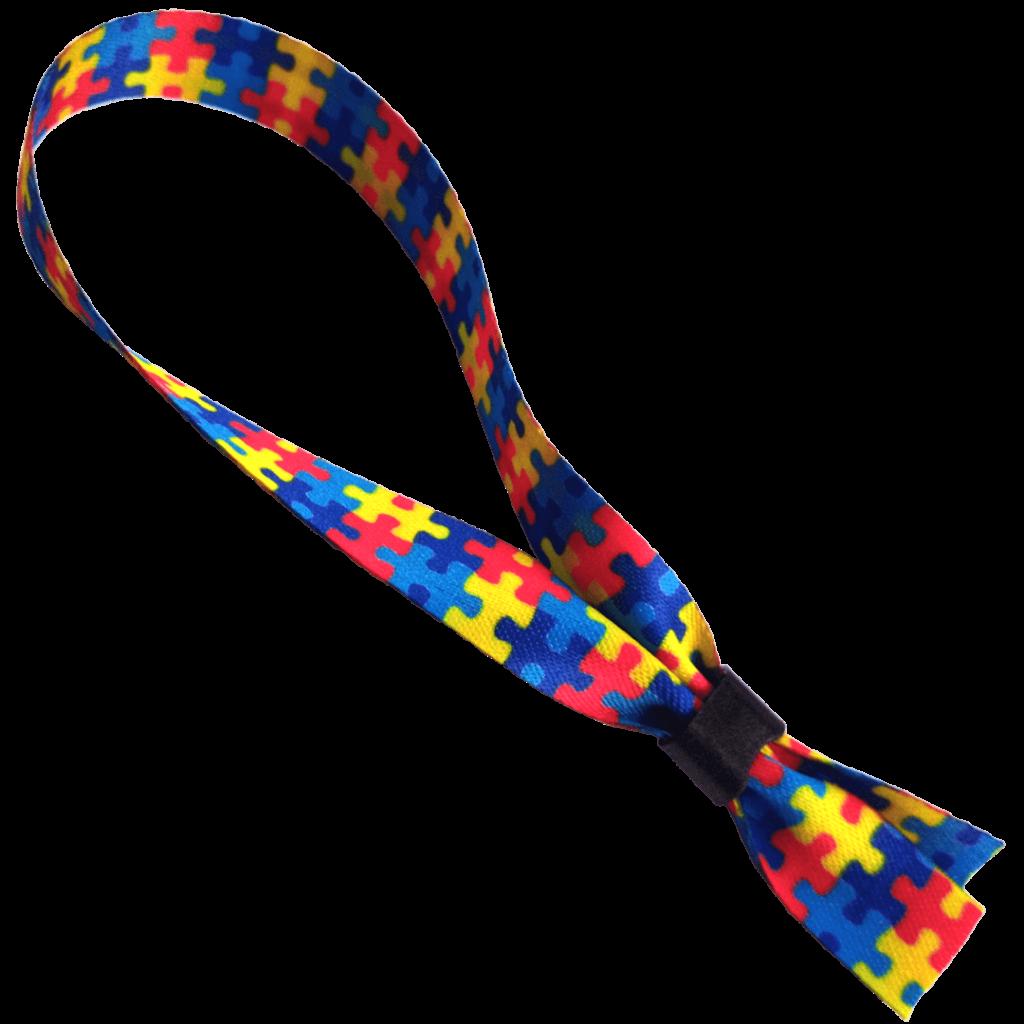 Pulseira Quebra Cabeça Autismo